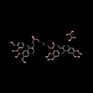 (Pentamethylene bis[1-(3,4-dimethoxybenzyl)-3,4-dihydro-6,7-dimethoxy-1H-isoquinoline-2-propionate] dioxalate[Atracurium oxalate]